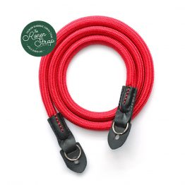 Red Handmade Nylon Rope Camera Shoulder Neck Strap