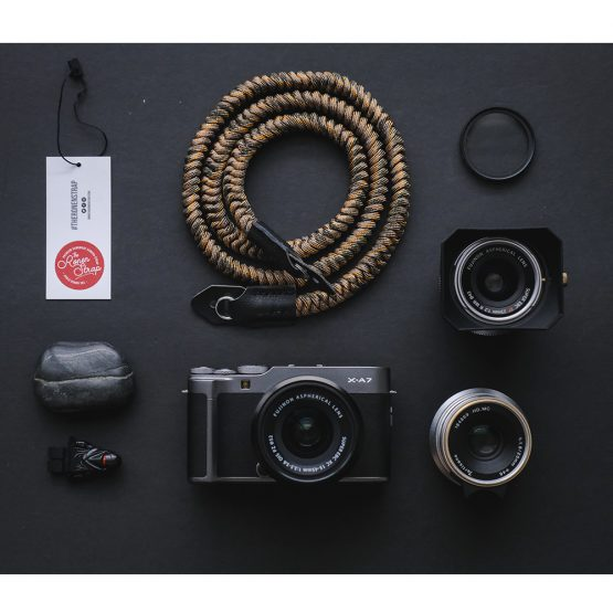 The Ronen Strap - Desert Ular series (handmade paracord camera strap)