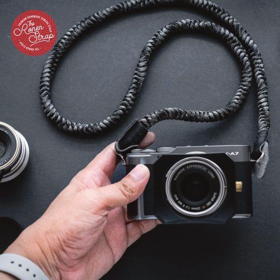 The ronen strap - handmade paracord camera strap
