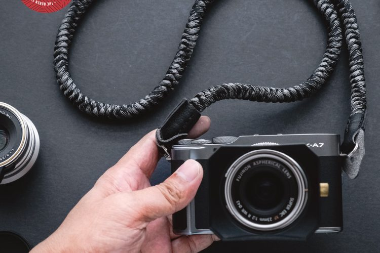 The ronen strap - handmade paracord camera strap