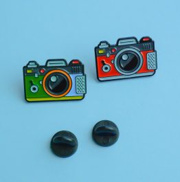 Cute Camera Enamel Pins Badge/Brooch