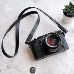TRS leather black color