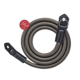 The ronen Strap Green Khaki Nylon Rope Camera Strap for Shoulder & Neck